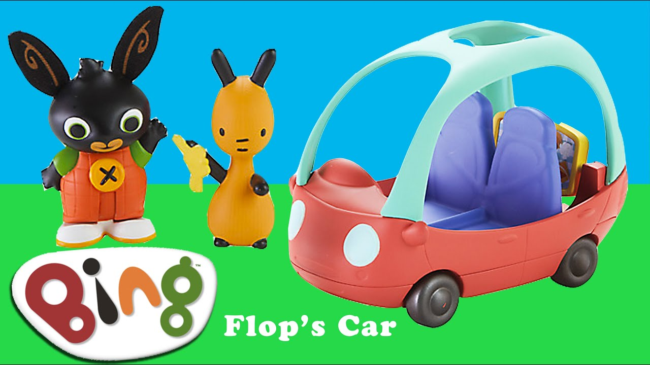 Bing Bunny Cbeebies Flop S Car Toy Unboxing Bbc Cbeebies