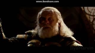 Локи занял трон Одина:Момент из фильма тор 2:Царство тьмы