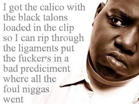 Notorious B.I.G - Warning Lyrics