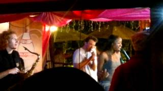 St Lucia Jazz Festival - Carl Gustave Band - Fire Grill - I Dont Want to Wait in Vain for Your Love