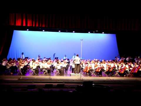 American Rhapsody by L. Niehaus - Jennifer Jeon (Concertmaster)