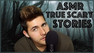 ASMR 3 True Scary Stories From Reddit - Scary Story ASMR Reading (Woods Ambience)