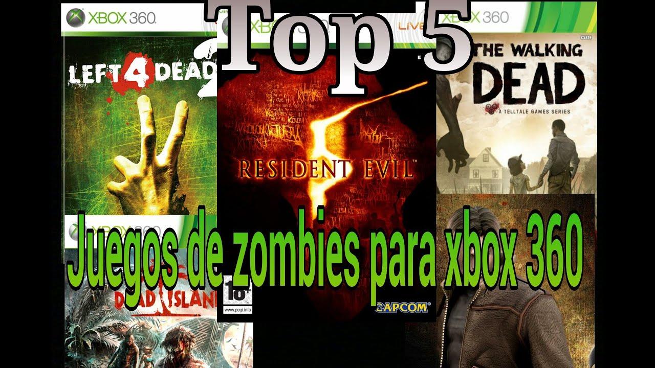 Top 5 Juegos De Zombis Para Xbox 360 Youtube