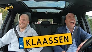 Davy Klaassen part 1 - Bij Andy in de auto! (English subtitles)