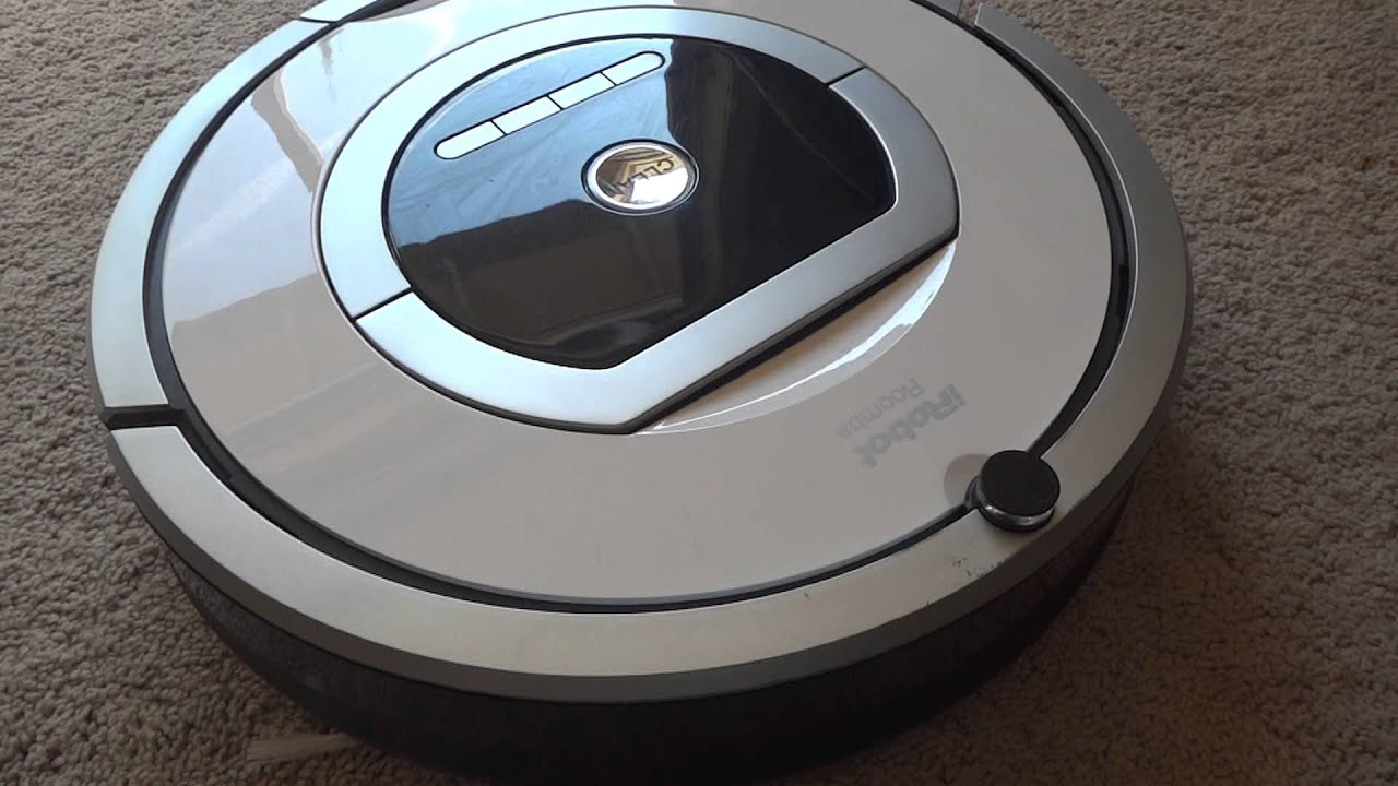 iRobot Roomba 760 - YouTube
