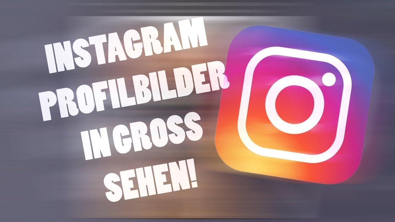 Instagram Profilbilder groß sehen - YouTube