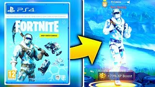So I Got The Deep Freeze Fortnite Bundle Early.... (Fortnite Frostbite Outfit Showcase!)