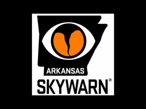 Arkansas SKYWARN Audio 4/27/2014 Mayflower/Vilonia Tornado