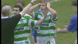 Celtic V Rangers* Paddys Day 1991 (4 Red Cards)