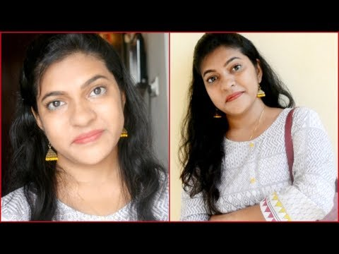 Easy office makeup under 10 minutes  Simple everyday makeup PreetyIndianGal