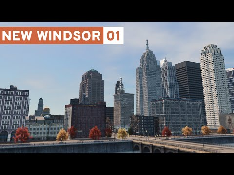 Downtown! - Cities Skylines: New Windsor - Part 1 -