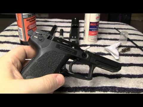 How To Clean A Pistol In HD