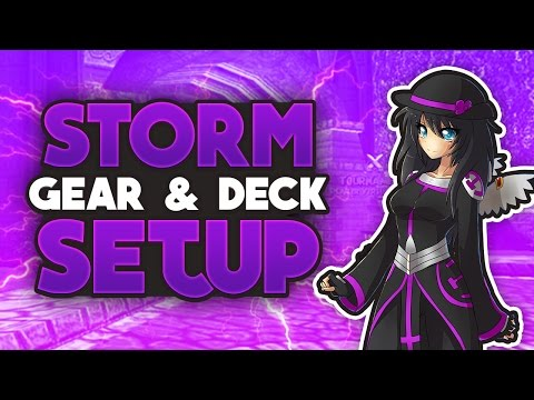 Wizard101 Champion Storm Level 120 Storm Gear & Deck Setup! 1v1 & Quick Match!
