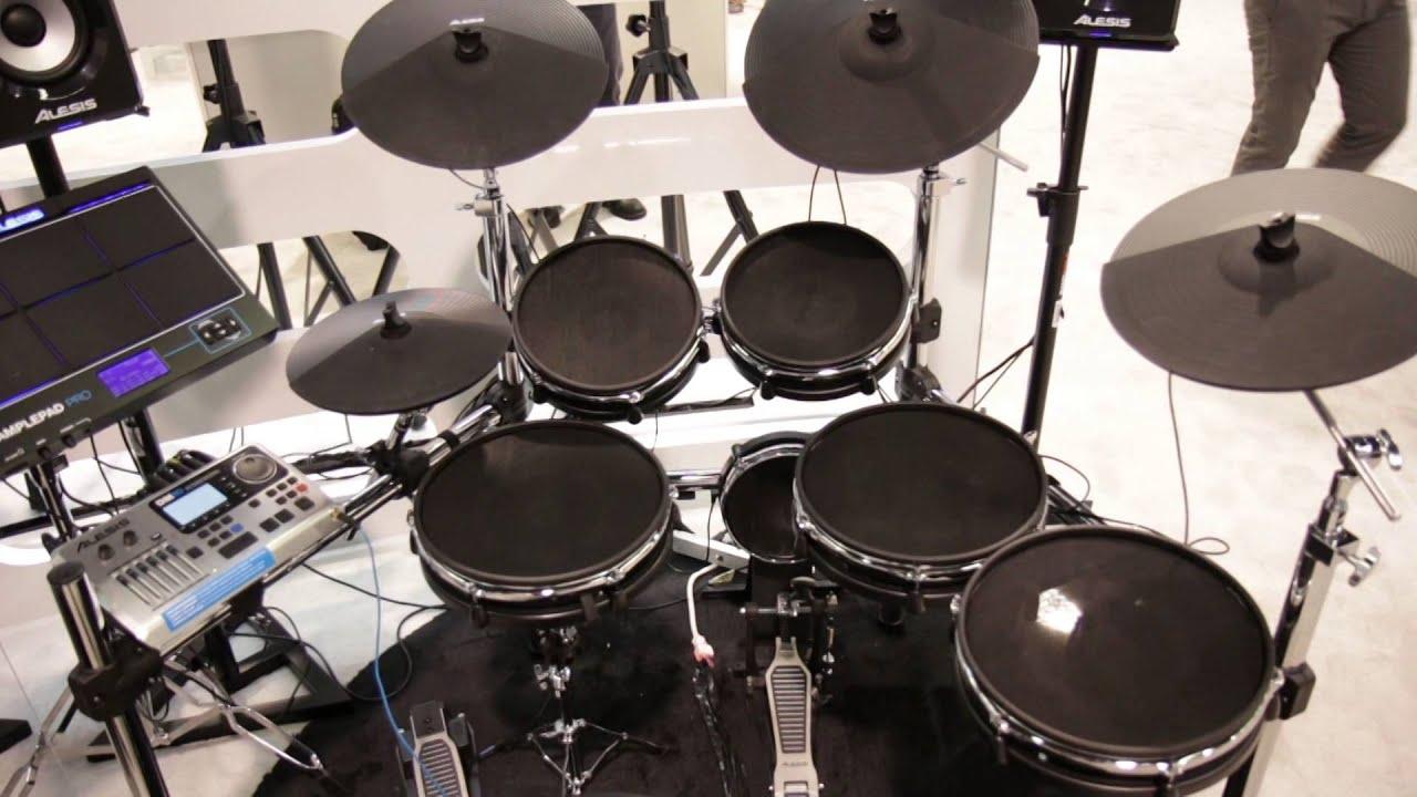 guitar center new from namm 2015 alesis dm10 x mesh kit youtube