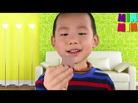Review Thuốc Tẩy Giun Combantrin Chocolate Squares 24 Úc - MinMin Kids TV