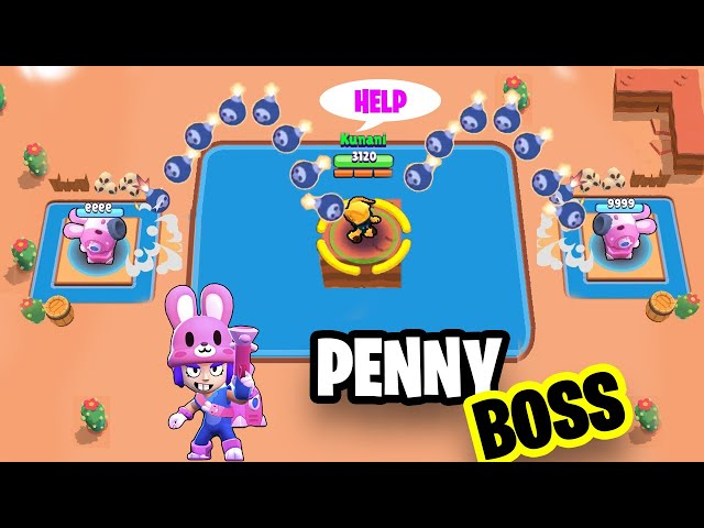 PENNY Like A BOSS Brawl Stars Funny Moments & Glitches #9