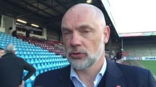 Uwe Rosler on Scunthorpe United win | Post Match