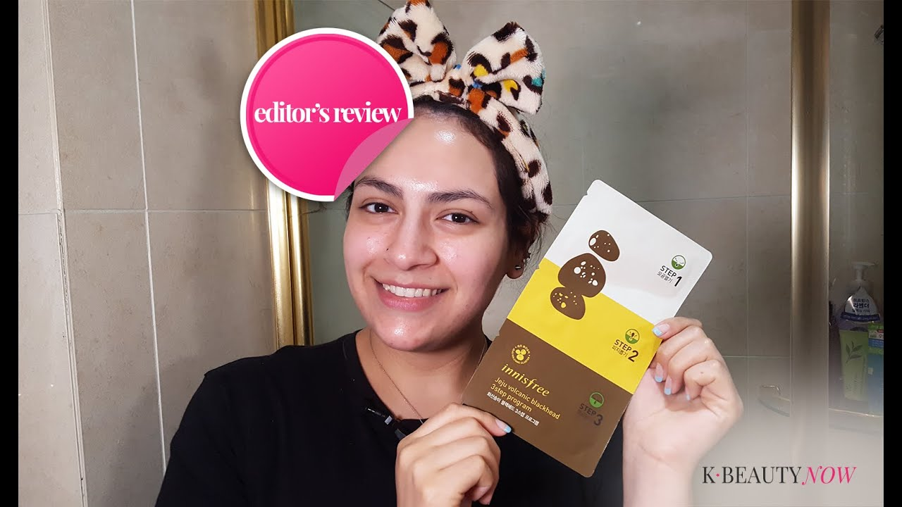 Editor review how to innisfree jeju volcanic blackhead 3 step editor review how to innisfree jeju volcanic blackhead 3 step program youtube sciox Choice Image