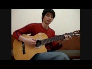 Akustik Gitar - Belajar Lagu (Selepas Kau Pergi - La Luna)