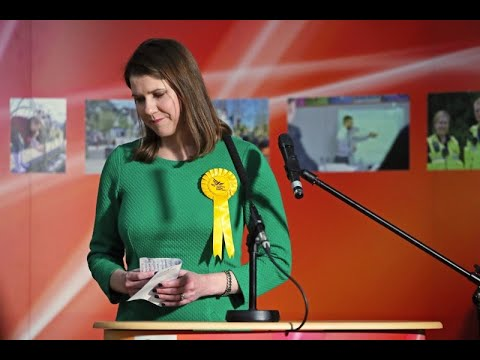 Jo Swinson Holds Press Conference After Stepping Down As Lib Dem Leader –watch Live