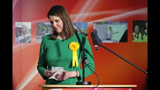 Jo Swinson Holds Press Conference After Stepping Down As Lib Dem Leader – watch Live