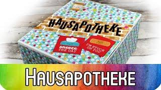DIY Scrapbooking Idee: Hausapotheke basteln | Stabile Box basteln