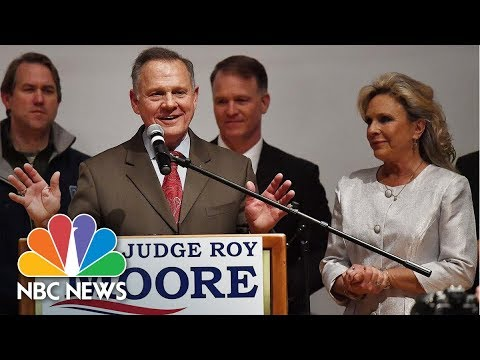 Roy Moore Looks To Recount, Tells Supporters 'It's Not Over' | NBC News