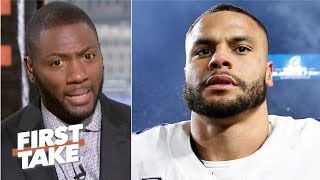 Everyone knows Dak Prescott needs to get paid before Ezekiel Elliott – Ryan Clark | First Take