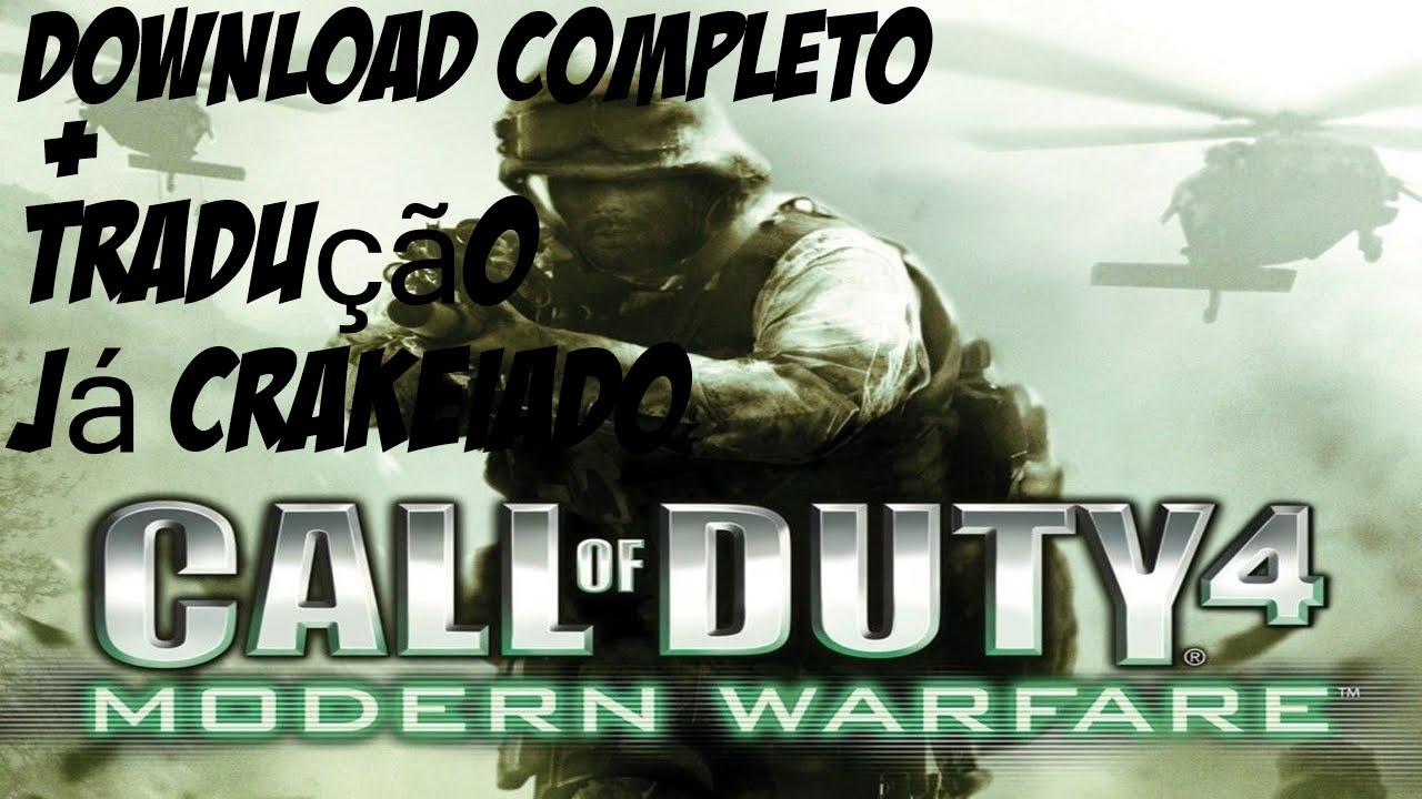 Como baixar call of duty 4 modern warfare completo já crakeiado +.