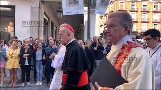 Procesión en honor a la Virgen de San Lorenzo en Valladolid