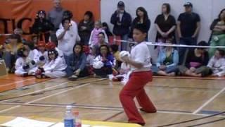 Sikaran-Arnis at Manitoba Sport Karate Tournaments - Forms