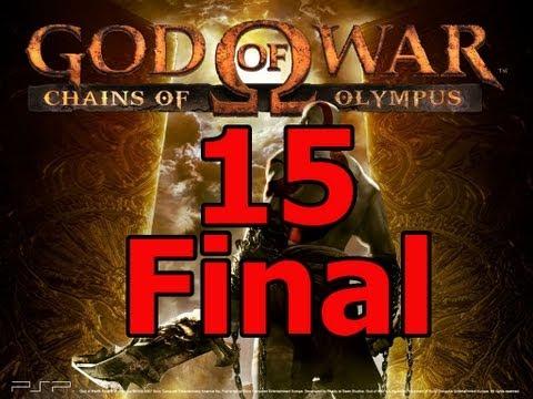 God of war chains of olympus guia en español