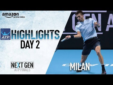 Highlights: Coric Earns Second Win In Milan 2017