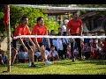 Download Gălăgie mare și emoții! Vedetele de la Asia Express joacă sportul tradițional cu mingea din Laos