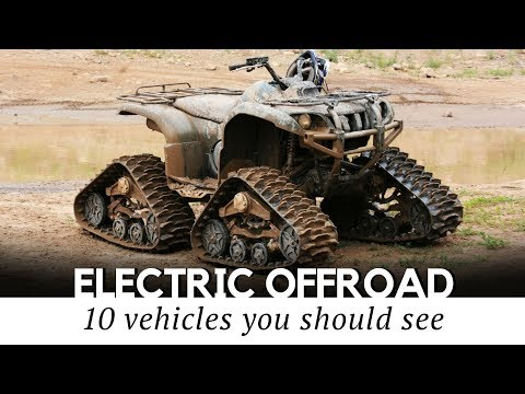 10 Electric All Terrain Vehicles for Maximum Offroad Fun in 2018