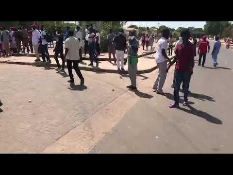 La Marche des agents du CHR de Kolda dispersée par les forces de l'ordre