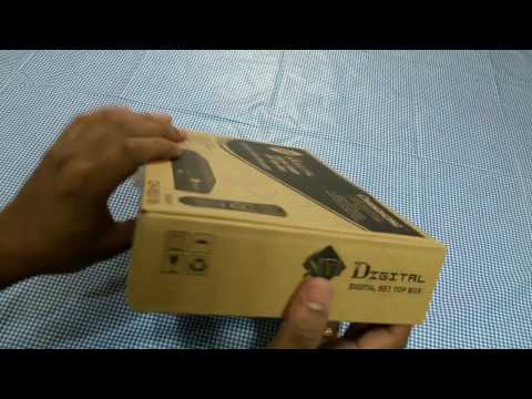 Digital Cable set Top Box Unboxing & Review ! Siti Cable