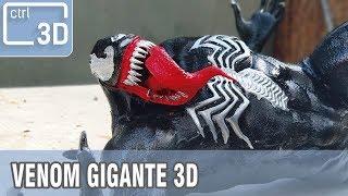 CÓMO HACER A VENOM GIGANTE IMPRESO EN 3D!!! | Video en Español