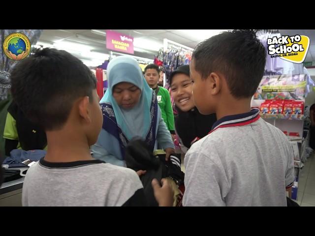 CERIA MALAYSIA : BACK TO SCHOOL BALING, KEDAH- JAN 2020
