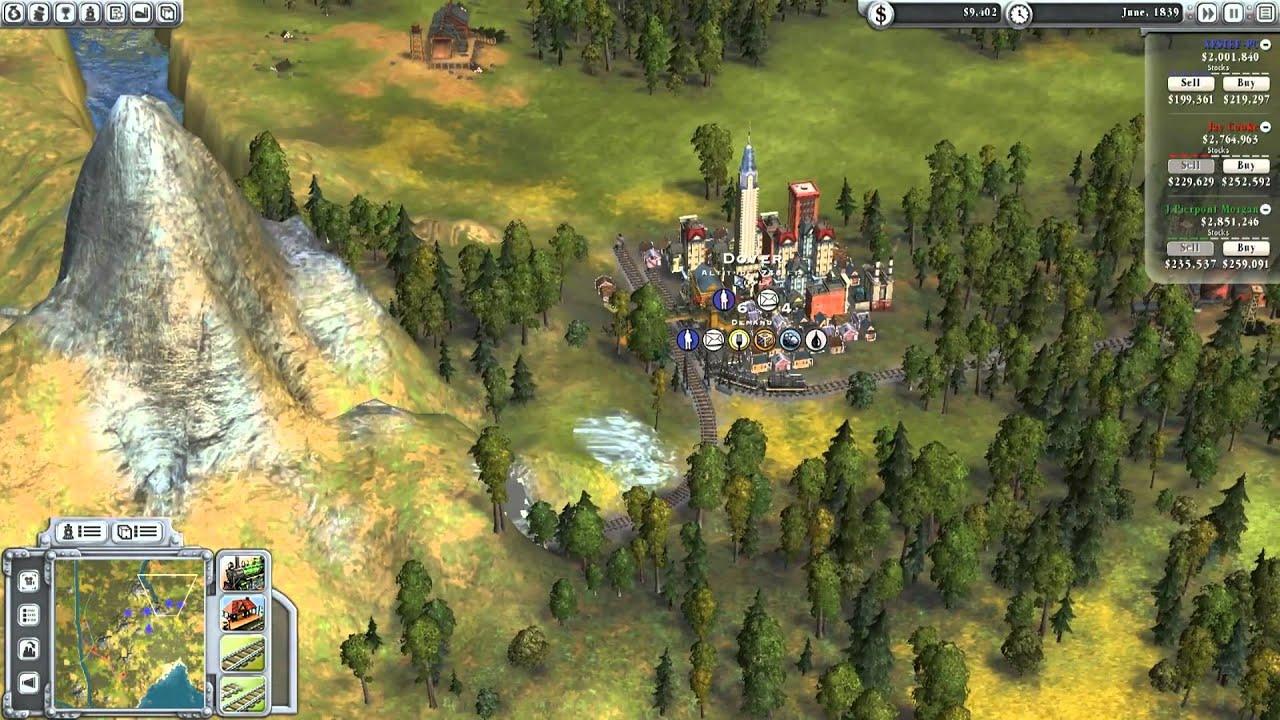席德邁爾之鐵道大亨Sid Meiers Railroads For Mac 經營模擬遊戲