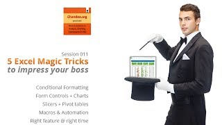 Microsoft Excel Magic Tricks # 1  all language tips