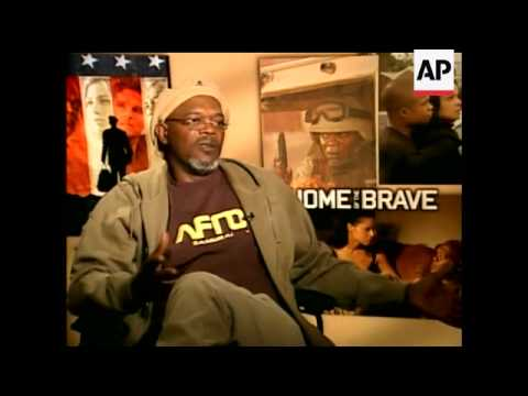 Actor Samuel L. Jackson and rapper-turned-actor '50 Cent' star in 'Home of the Brave' - a drama abou