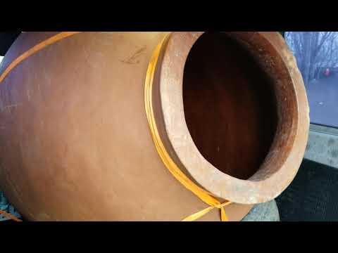 Квеври Глиняный Кувшин для Вина. Из Грузии в Россию.бизнес завёлся)))