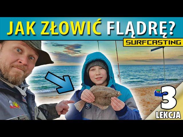 ③ Zestaw na FLĄDRY z plaży LEKCJA TRZECIA :)