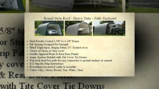 Temporary Portable Garage Shelter Carport Easiest Best Motor Home Rv Boat Storage On The Market