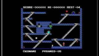 King sValley MSX 1 game on Aleste 520EX  1993