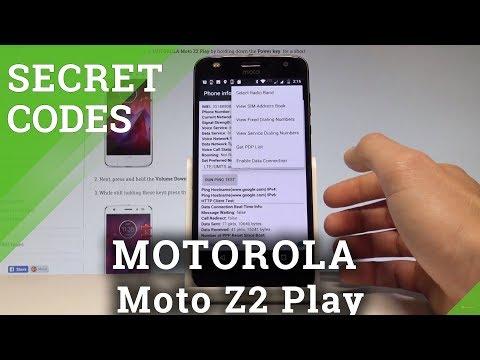 Codes MOTOROLA Moto Z2 Play - HardReset info