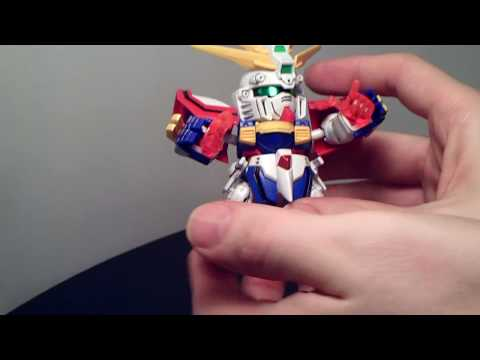 SD Neo God Gundam Review