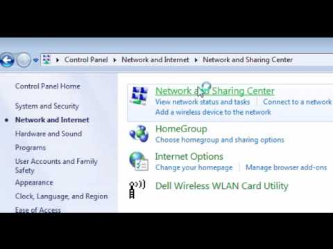 How to find you IP address (windows 7)