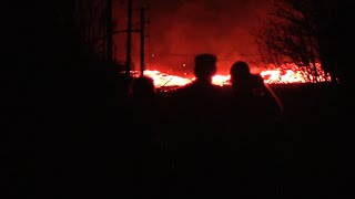 Raw: Video Shows Fast-Moving Hawaii Lava